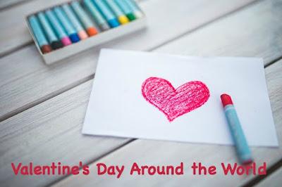 Valentine's Day celebrations around the world for kids