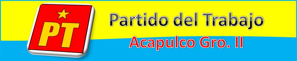 PARTIDO DEL TRABAJO ACAPULCO GRO. II