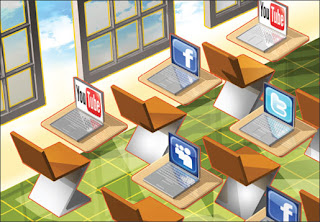 Social Networking Sites on Laptops in a Classroom