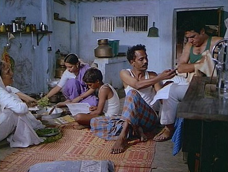 Life of a Chawl depicted in an Indian Movie
