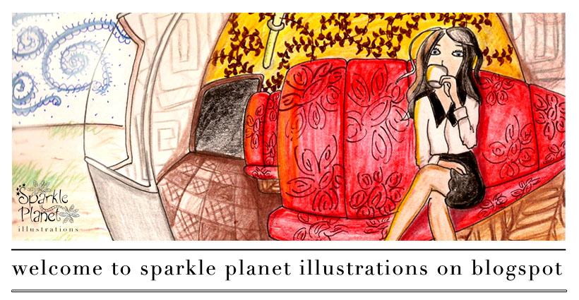 Sparkle Planet Illustrations Blog