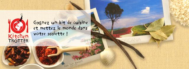 Participez vite pour gagner en exclusivité 2 kits de cuisine Kitchen Trotter !