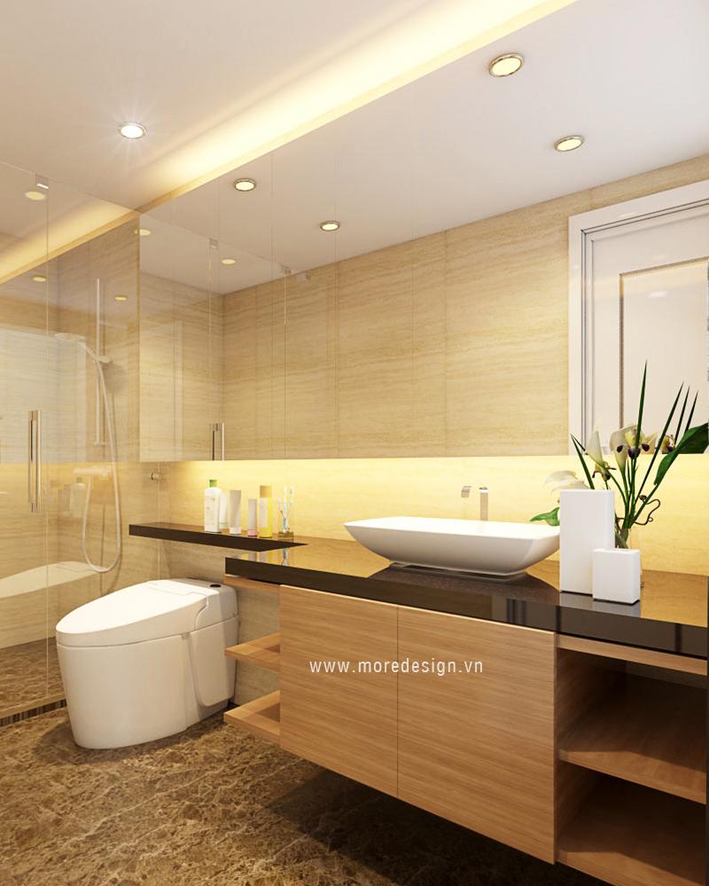 Nội thất căn hộ chung cư ICON56 - phòng tắm