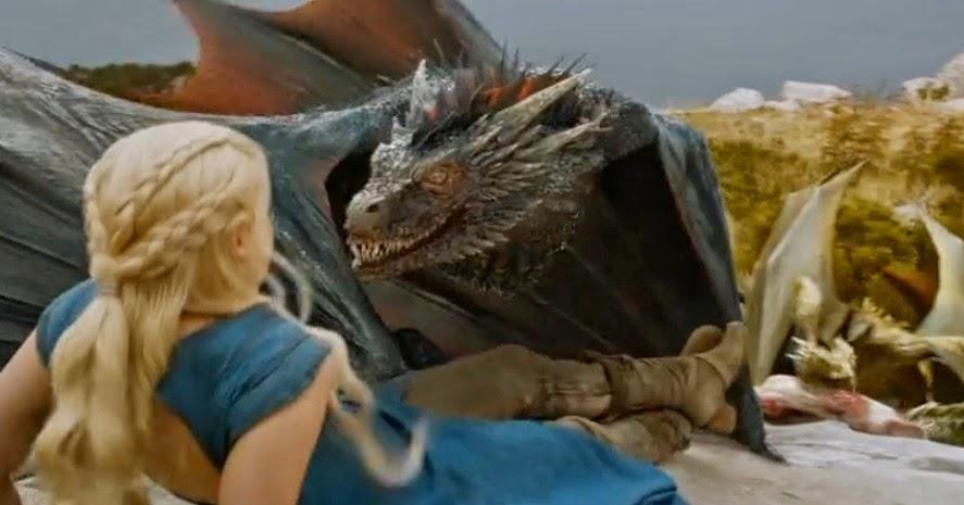 Drogon contra daenerys - Juego de Tronos en los siete reinos