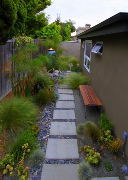 hunt mid-century modern garden