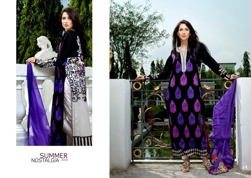 Firdous Exclusive Lawn Prints 2014