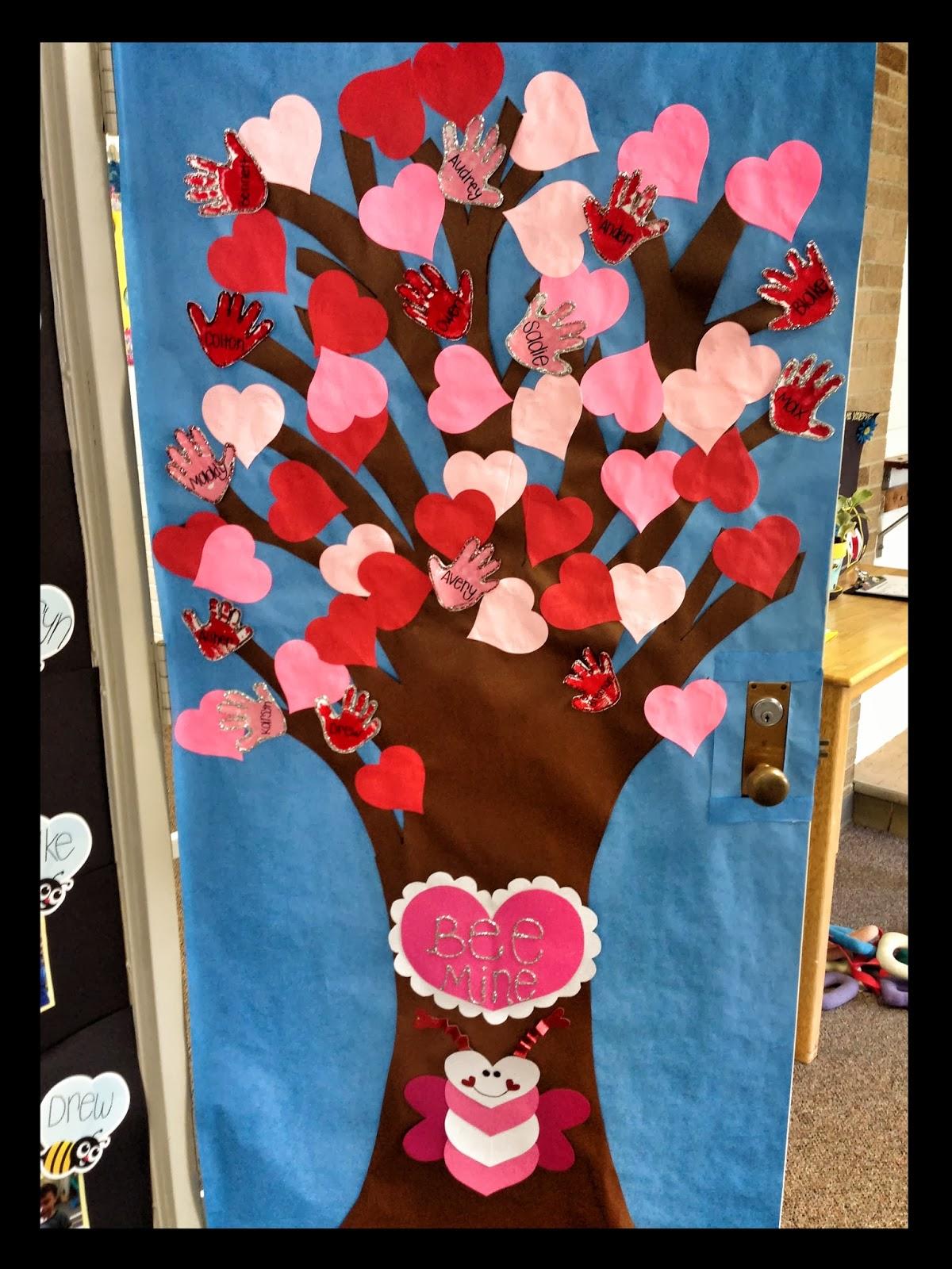 Classroom Design Valentines Day ~ Idéias de murais para decoração da sala aula e porta
