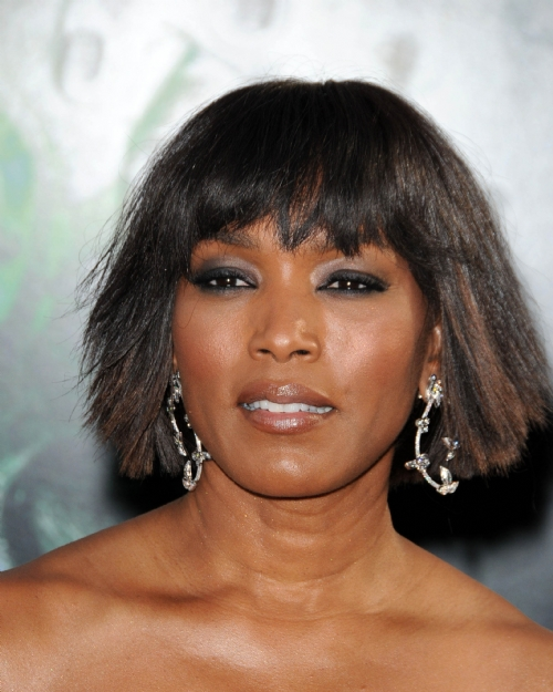 Women Hairs Angela Bassett