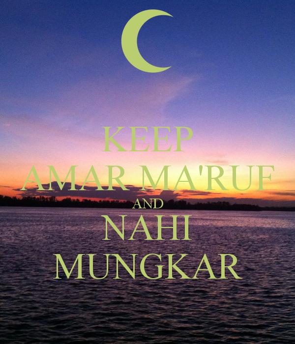 Amar Makruf Nahi Mungkar