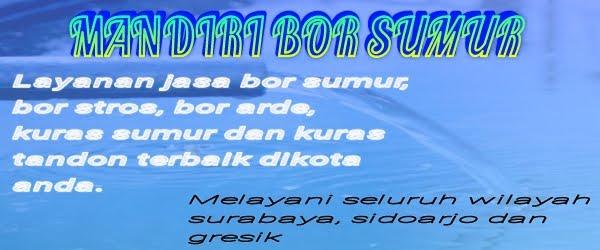 Bor Sumur Surabaya 0851-0025-8756, Bor Stros, Kuras Sumur
