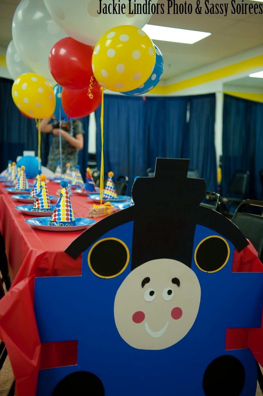 sassy soirees wedding event planning thomas the train birthday party. Black Bedroom Furniture Sets. Home Design Ideas