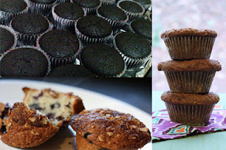 Kue muffin coklat