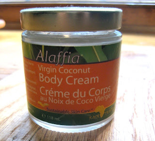 alaffia coconut body cream all natural review