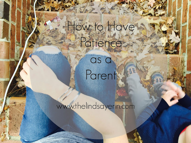 how to have patience as a parent