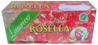Kemasan Baru Teh Celup Rosella Laurico