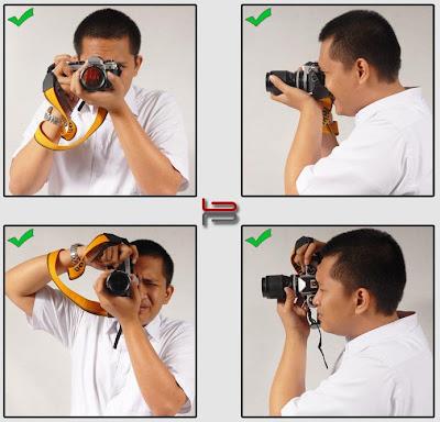 Tips Memegang Kamera Digital Yang Benar