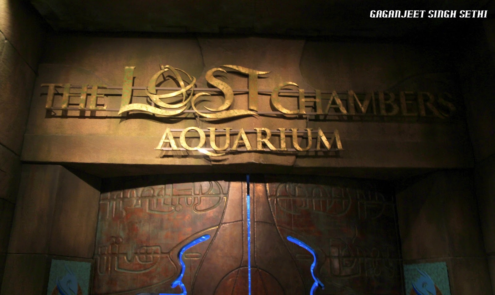 note that you need atleast an hour to go around The Lost Chambers ...