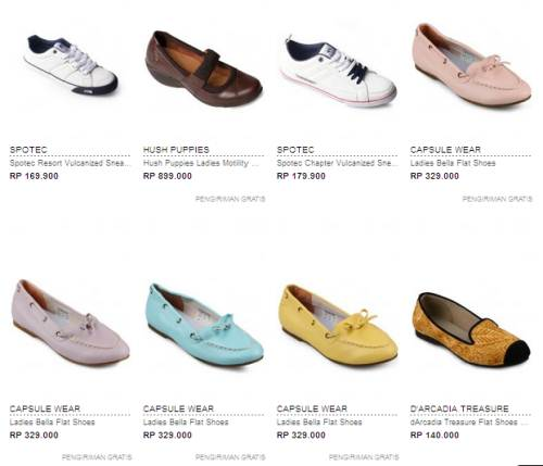 Jual Sepatu Casual Murah Terbaru