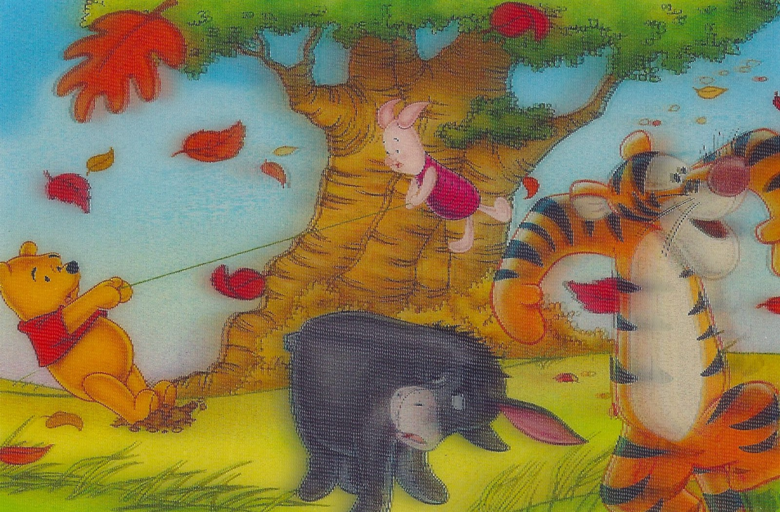 Winnie the Pooh and Friends in 3-D