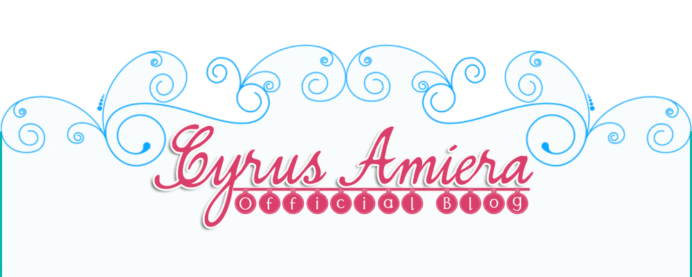 Cyrus Amiera Official Blog