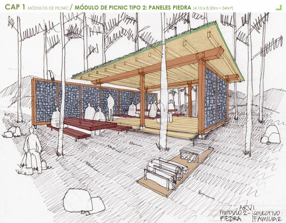 El plan z arquitectura escala urbana arquitectura for Mobiliario para el jardin