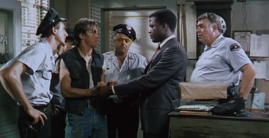 the approach to racism in the book and movie heat of the night What are some examples of racism in the book in the heat of the night.