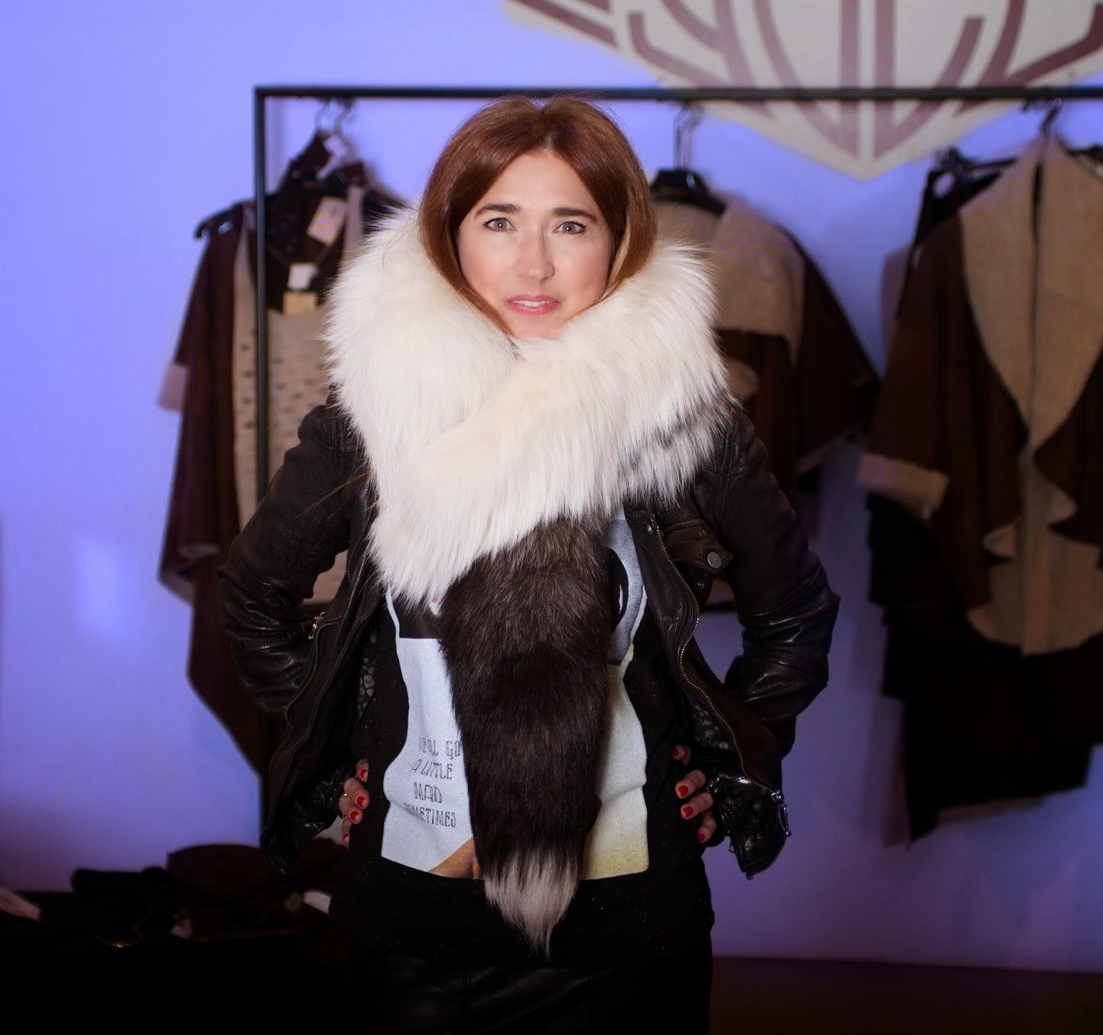 Yaël Barnatan, Elena Benarroch, leather, complementos, moda, fashion style, street style, fashion blogger, Carmen Hummer