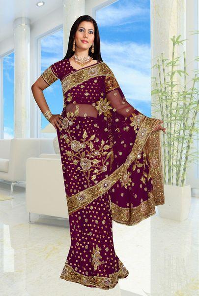 CDesigns92 Indian Sari Inspired Nail Art