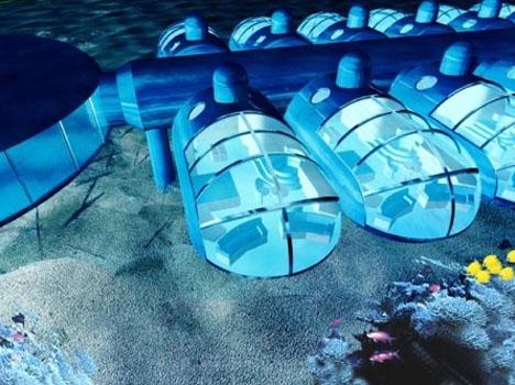 Dubai Hotel Under Water