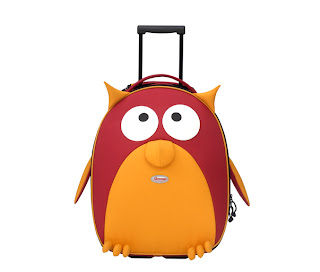 Picture of the Samsonite Sammies Dreams - Kids Upright Suitcase, Owl