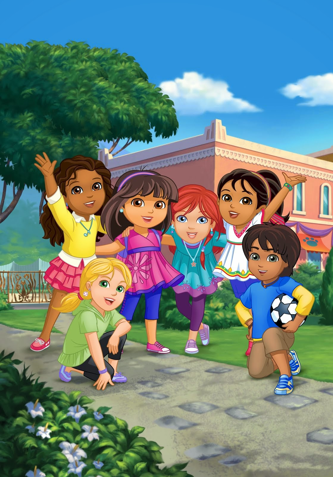"""DORA AND FRIENDS: INTO THE CITY!"""