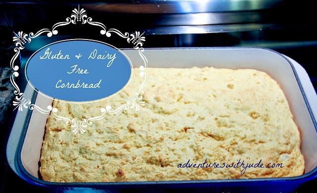 gluten dairy free cornbread