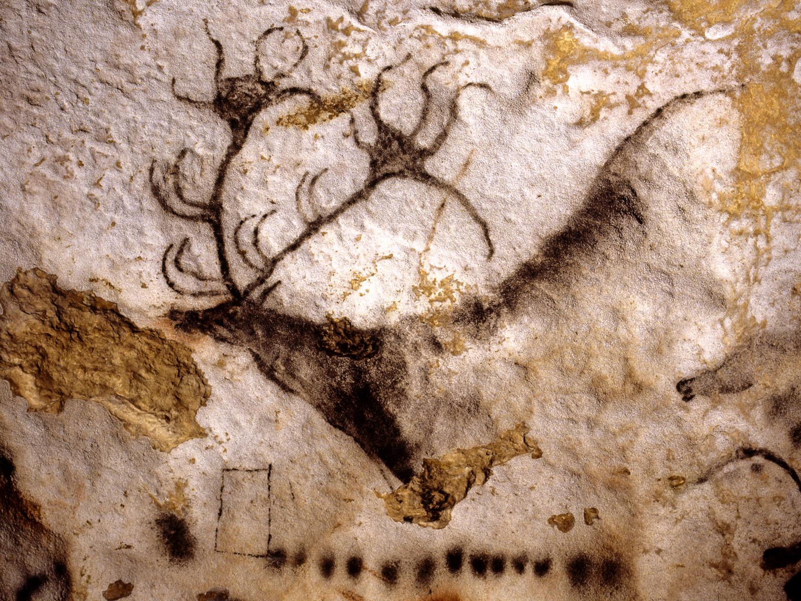 Caveman Art Project : Vista art projects lascaux cave paintings stories