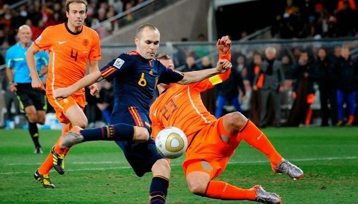 Holanda vs España en vivo