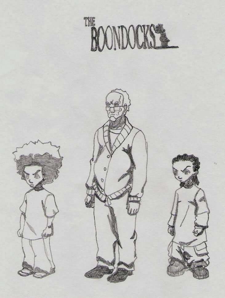 boondocks coloring pictures