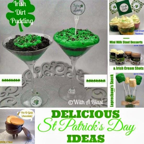 Delicious St Patricks Day Ideas   #StPatricks  #Desserts