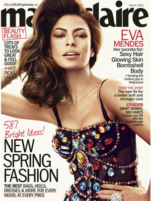 One of the most sexiest Latina known to man, Eva Mendes looks scorching hot ...