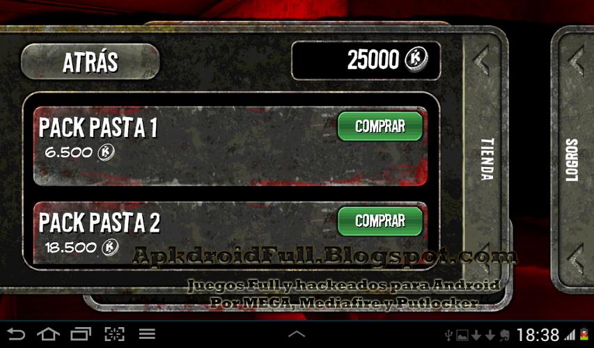 House of the Dead Overkill Hack compras gratis no root español.apk
