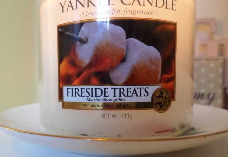 Yankee Candle Fireside Treats Cara Wood