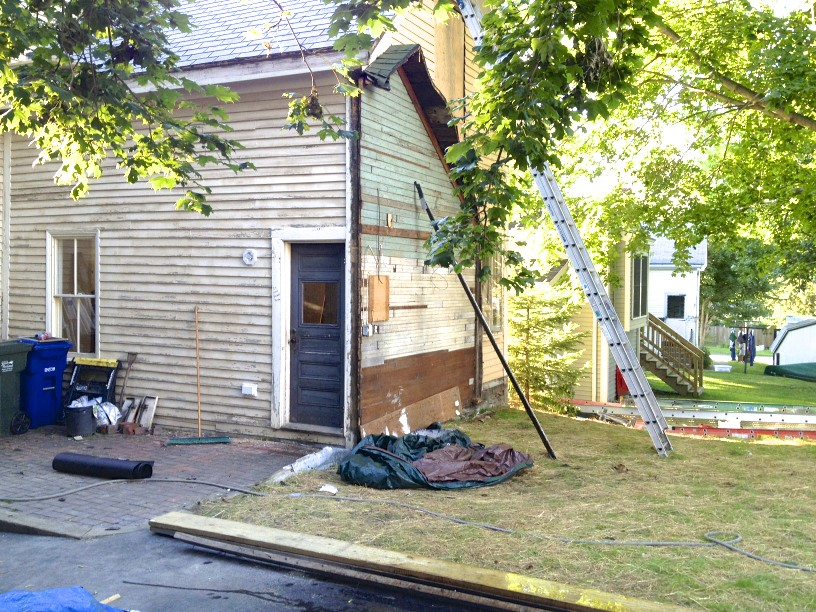 Sopo Cottage Exterior Paint Job Before And After