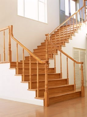 Home Design on Inspiring Home Design  Korean Wood Staircase Design