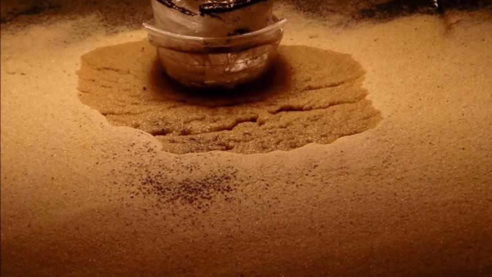 Agua hirviendo en Marte