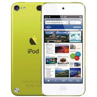 Spesifikasi dan Harga Lengkap iPod Touch Generasi 5!