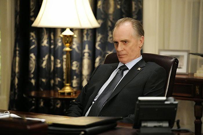 Keith Carradine as President Conrad
