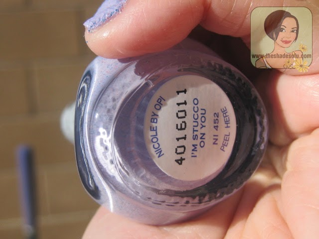Nicole by OPI Spring 2014 Roughles Textured Nail Lacquer Swatches ...
