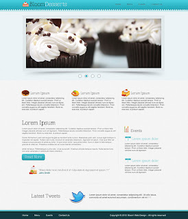 Create a culinary site in Photoshop (+ Free PSD-source)