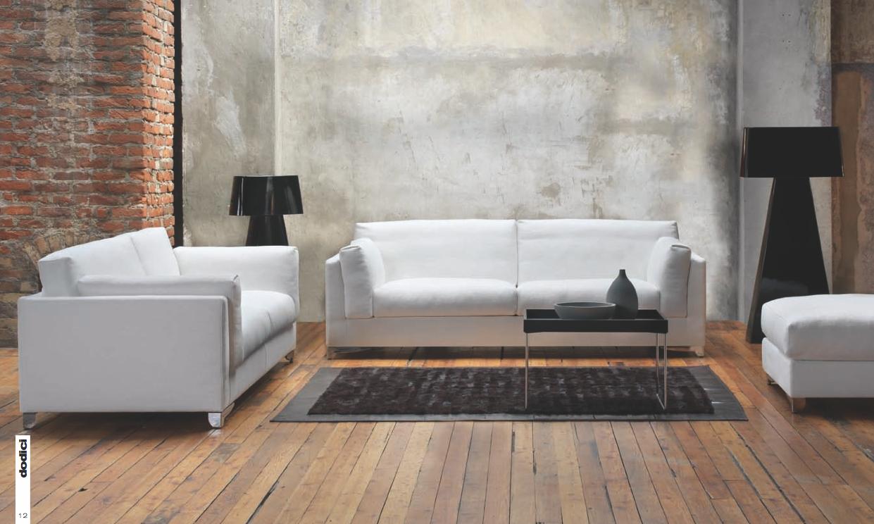 Portofino divano moderno comodo elegante giovane essenziale tino mariani - Divano al dimensioni ...