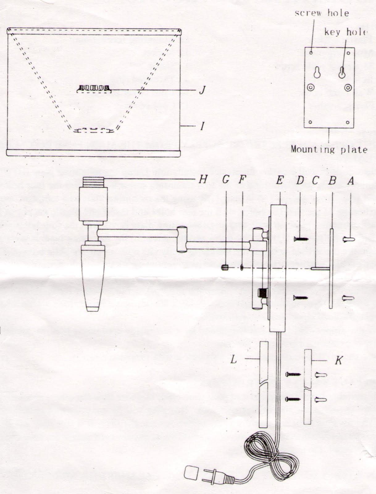 diy gal  installation tips  possini swing arm lamp