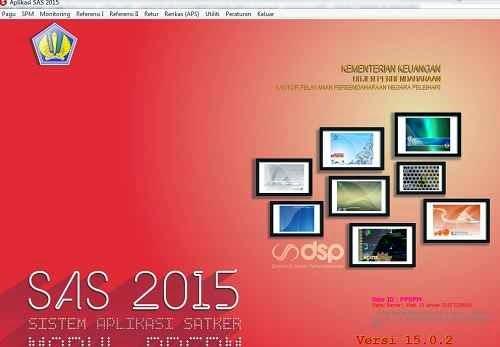 aplikasi SAS 2015 15.0.2