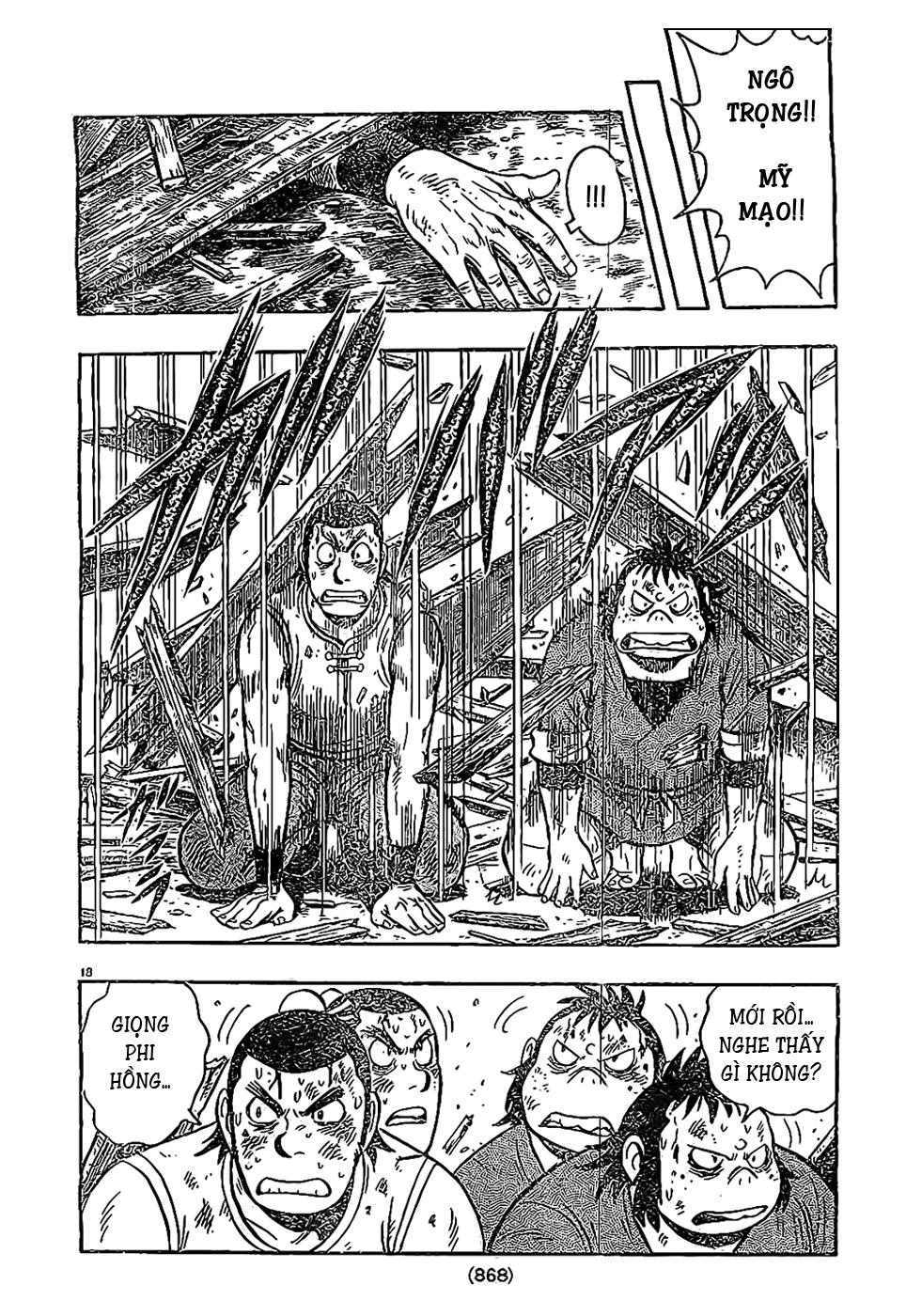 Hoàng Phi Hồng Phần 4 chap 85 Trang 19